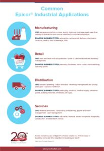 industries that use epicor