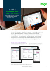 Whats New Sage CRM 2019 R1 212x300